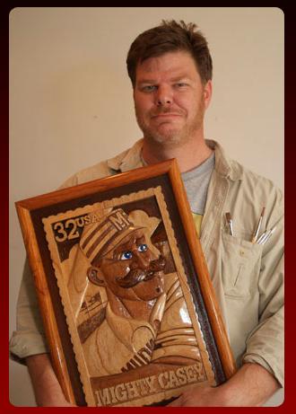 Sculptor Benjamin Blackburn