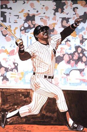 Reggie Jackson, by Neal Portnoy