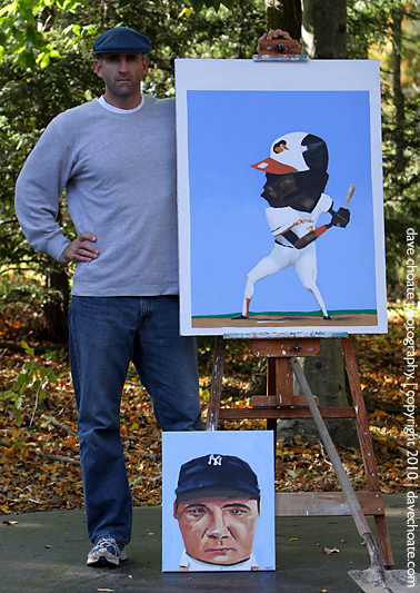 Baseball Artist Dave Choate