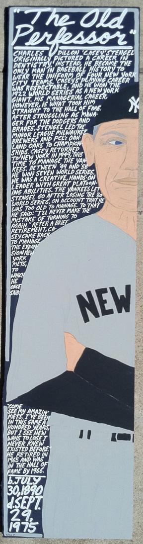 """Casey Stengel"" by artist Will Johnson"
