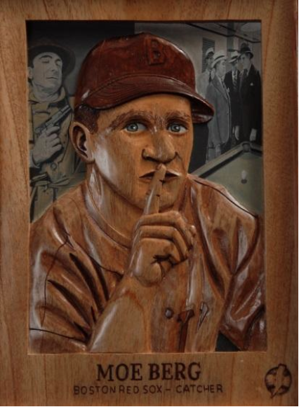 "Moe Berg, ""The Spy Catcher,"" a Chris Felix collaboration with Benjamin Blackburn."