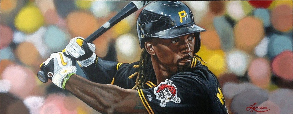 """Andrew McCutchen"" by artist Paul Lempa"