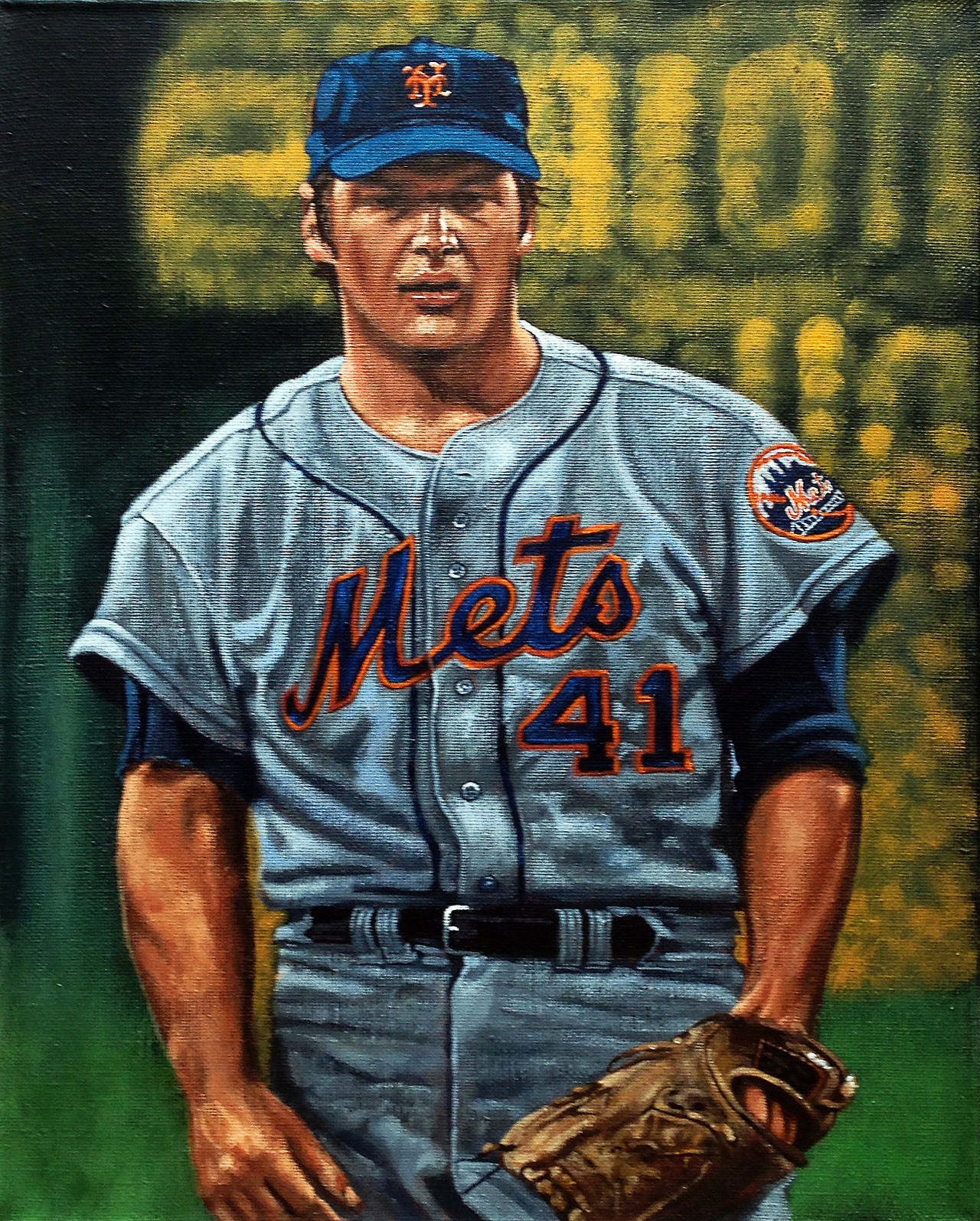 """Tom Seaver"" by artist Paul Lempa"