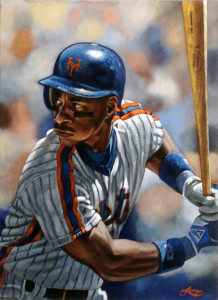 """Darryl Strawberry"" by artist Paul Lempa"