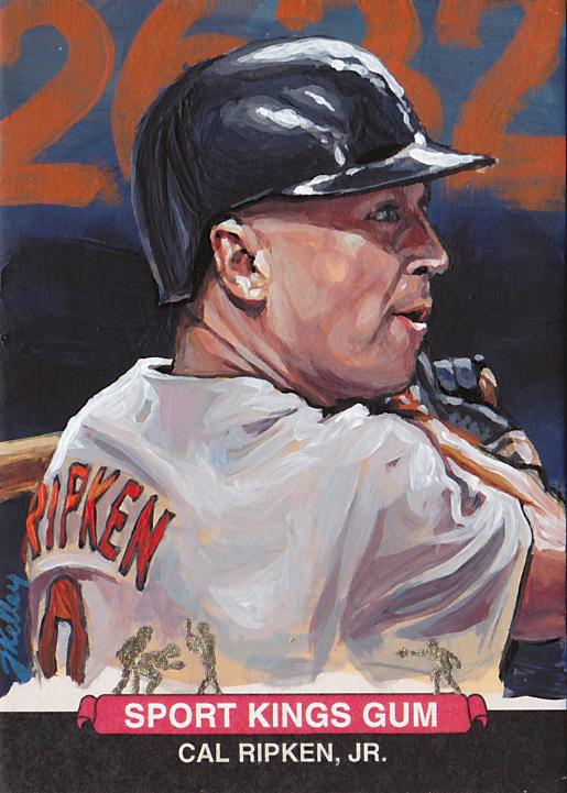 """""""Cal Ripken Jr."""" by artist Jared Kelley"""